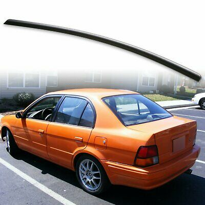 fyralip rear trunk lip spoiler wing for toyota 94 99 tercel unpainted black 57 39 picclick fyralip rear trunk lip spoiler wing for