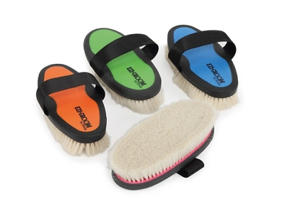 Ezi-Groom Grip Body Brush with Goat Hair