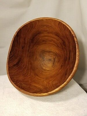 Vintage Teak Wood Salad Bowl set from Thailand By Good Wood (7 pieces)