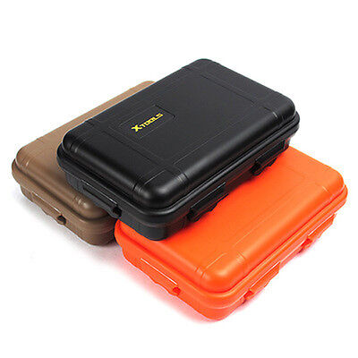 Outdoor Plastic Shockproof Box Storage Case Survival Container EDC Camping