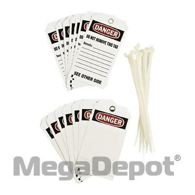 Brady 76192, BLANK ACCIDENT PREVENTION TAG W/OVERLAM