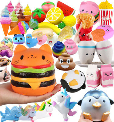Jumbo Squishies Scented Charms Kawaii Squishy Squeeze Slow Rising Relief Fun Toy