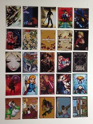Limited Run Games > Trading Cards > Night Trap, Wonder Boy u.a. >  25 Stück