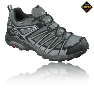 Salomon Mens X Ultra 3 Prime Gore-Tex Walking Shoe Black Sports Trainers