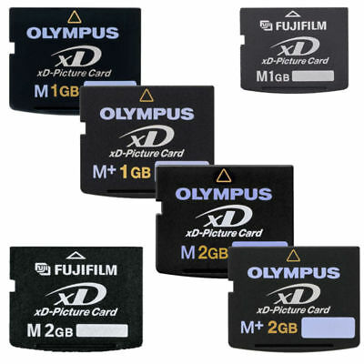 1GB 2GB FUJI Olympus FujiFilm XD Digital Camera Pictuer Memory Card Type M/ M+