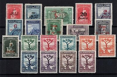 P61790/ Turquie Turkey / Lot 1927 - 1931 Neuf * / Mint Mh 129 €