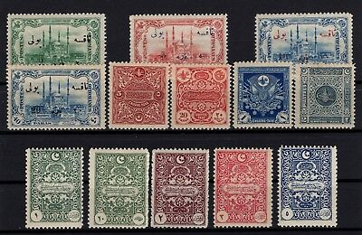 P61634/ Turkey / Postage Due / Mi # 39 / 51 Full Sets Mint Mnh 140 €