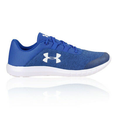 Under Armour Mens Mojo Running Shoe Blue Sports Breathable Lightweight