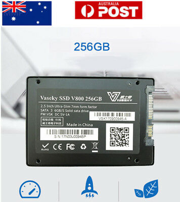 """Vaseky 2.5"""" 256GB SSD SATA 3 520MB/s Write High Speed Internal Solid State Drive"""