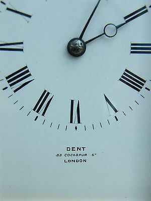 A Fine Large Rare John Edward Dent Striking Repeater Carriage Clock