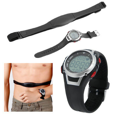 Gym Fitness Watch Pulse Heart Rate Monitor Sports Running Jogging Waterproof GE3