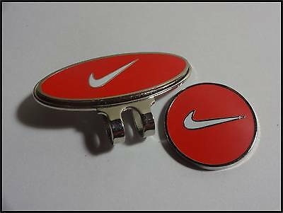 *NEW* Nike Hat Clip & Ball Marker - Red