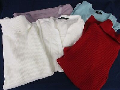 Bundle / Job lot of ladies tops, jumpers, polo necks - assorted colours