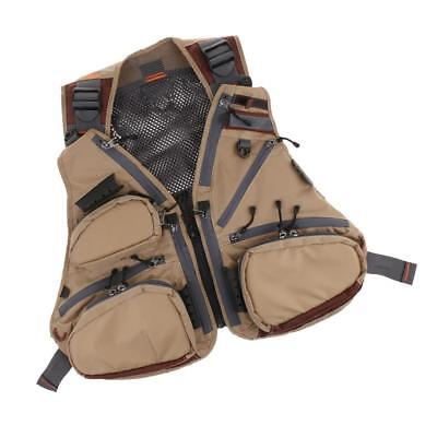 Multi-function Mesh Fly Fishing Vest Multi-pocket Jacket Photography Vests