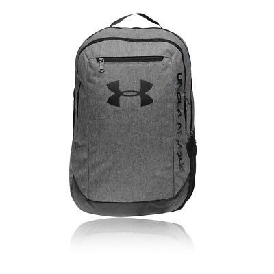 Under Armour Mens Hustle LDWR Backpack Grey Sports Gym Full Zip Water  Resistant 3a2acc1e5a2fc
