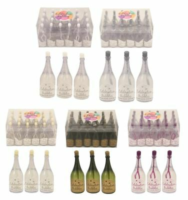 1-96 Champagne Bottle Bubbles Wedding Table Decoration Party Bag Favour