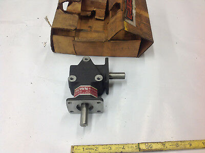 """Crown C104806 104806 Right Angle Gear Box Drive 5/8"""" 2-Way 2:1 Ratio NEW"""