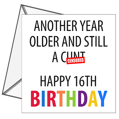 16th Birthday Card Son Small Bits Of Paper 16th Birthday Card