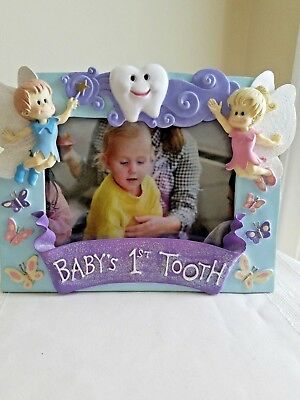 Baby's First Tooth Picture Frame