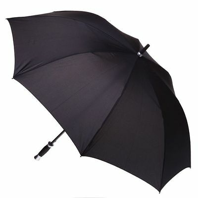 Premium Golf Umbrella Windproof Fibreglass Frame - Automatic - Black