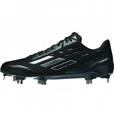 72f603a96a6 NEW Adidas Adizero Afterburner Baseball Metal Cleats Black Carbon - Choose  Size