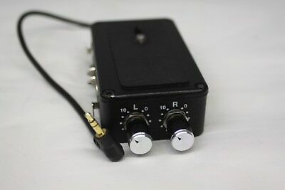 DXA-4P Dual XLR ADAPTER for Camcorder - Free Shipping!