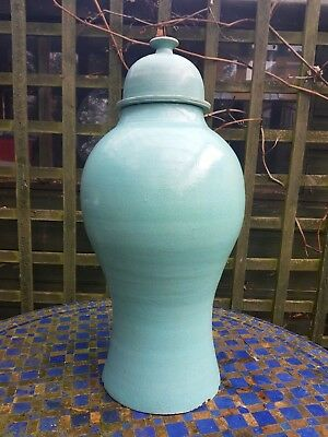 Moroccan Large Handmade Glazed Ceramic Decorative Pottery Vase Urn Garden Pot