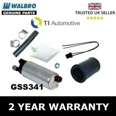 Genuine Walbro 255 Lph In-Tank Fuel Pump Upgrade + Install Kit - Gss341