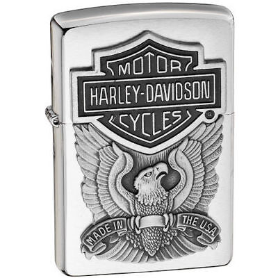Zippo Accendino Harley Davidson 200Hd H284*made In Usa*nuovo*lighter*official