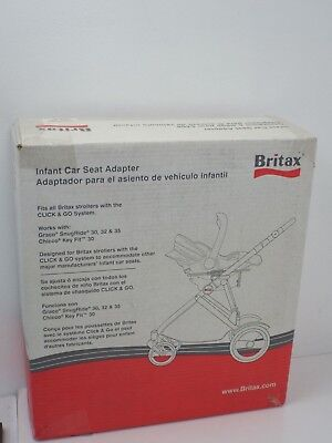 Britax Stroller Car Seat S842900 Adapter Frame NEW IN BOX B-Ready Graco Chicco65