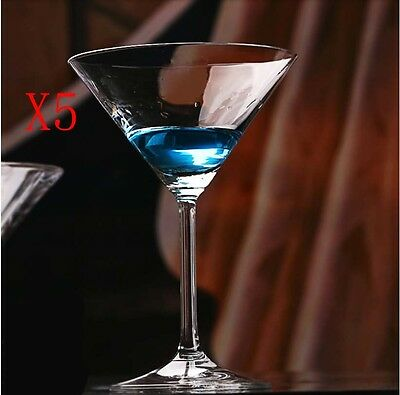New 5X Capacity 180ML Height 149MM High Foot Cocktail Wine Glass/Glassware %