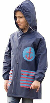 Lily of New York Raincoat for Boys & Girls – Kids Patterned Rain Coat with Hood