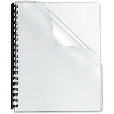 Sircle Crystal Clear Binding Covers Letter Size 5 Mil -  500 Sheets