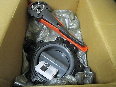 "New Georg Fischer 32mm-315 8"" 568 Diaphragm Butterfly Valve 161568108"