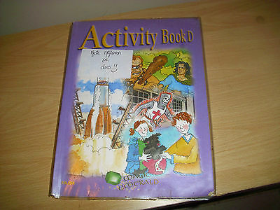 ACTIVITY BOOK D magic emerald series by Folens for 6th class