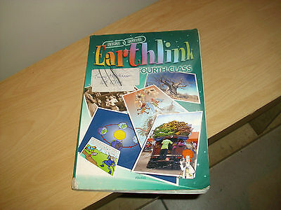 EARTHLINK Fourth Class SESE textbook from Folens, good con