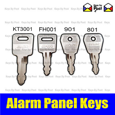 Kentec Fire Alarm Isolation Panel Switch Key, KT3001 - FH001 - 801 - 901 Lorin