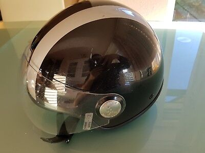 Motorradhelm,A-Style,Haute Couture,S-55,mit Leder,Sehr GUT