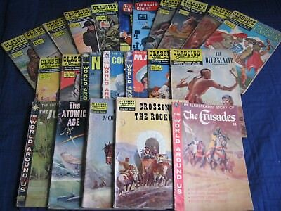 (21) CLASSICS ILLUSTRATED, The World Around Us, Special iss. (2) Treasure Chest