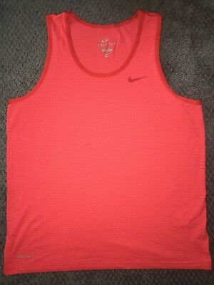 Nike Dry Fit Tank Top Mens Size Medium In Very Good Condition