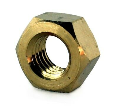 M4 METRIC BRASS FULL NUTS - DIN Standard 934 - Hex Nuts For M4 Bolts