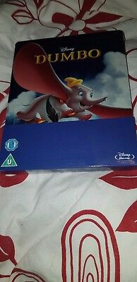 De Disney Dumbo Blu-Ray Zavvi Exclusive Sold-Out Steelbook No.9 Tout Nouveau