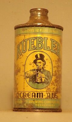 Kuebler Cream Ale #2 J Spout Cone Top Beer Can - Northampton, PA