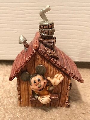 Harmony Kingdom Mickey Mouse Keep Out Mouseketeers Only Trinket Box