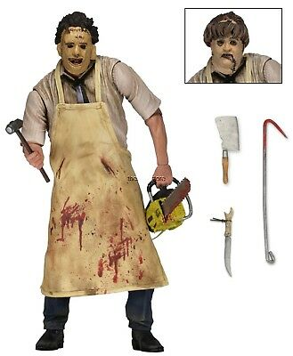 "Texas Chainsaw Massacre - 7"" Scale Action Figure - Ultimate Leatherface - NECA"
