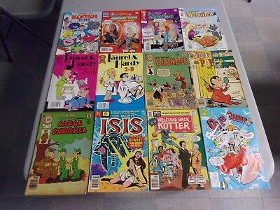 Cartoon Tv Movie Mixed Comic Lot (Silver-Modern Age/archie/dc/marvel/more)