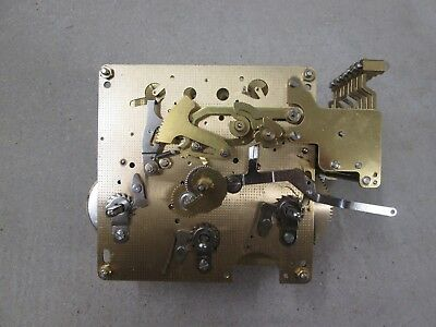 "Hermle Triple Chime Clock Movement 1051-030A 45cm Running Chiming Striking ""G"""
