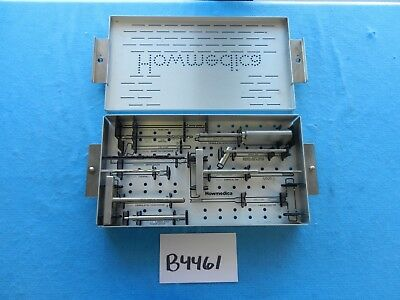 Howmedica Surgical Orthopedic Asnis II Small Guided Instrument Set W/ Case
