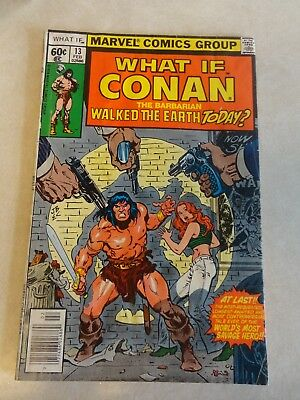 What If Comic Book Issue #13. Volume 1. Conan walked the Earth Today. Marvel