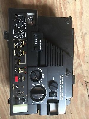 Chinon 9500 MV Sound twin track magnetic & optical projector. Used